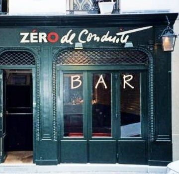 Bar insolite Zéro de conduite - Paris 6e