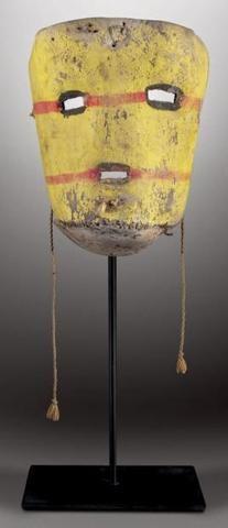 TSUKU (TSUTSKUT, au pl.) - Masque facial TSUKU (Colton 62). Clown.