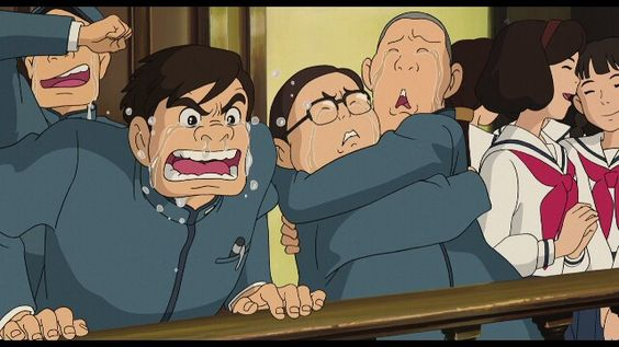 From up on poppy hill. Anime movie.