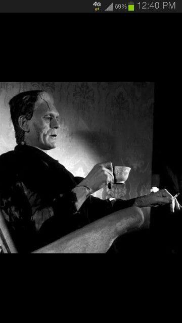 Frankenstein on a break.