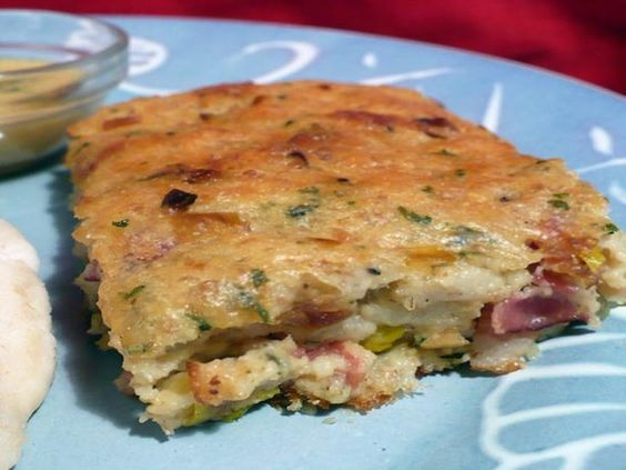Scarborough Fair - Savoury Bacon, Onion and Herb Bread Pudding