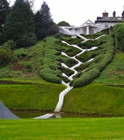 ˚Stairs at the Garden of Dumfries - Scotland