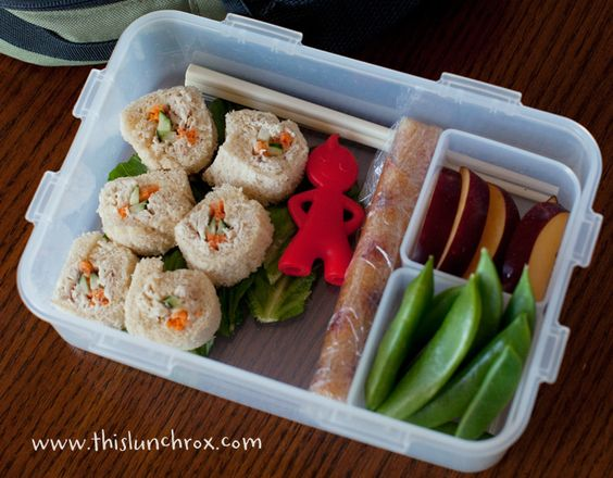 lunch box - great blog for creative lunches!