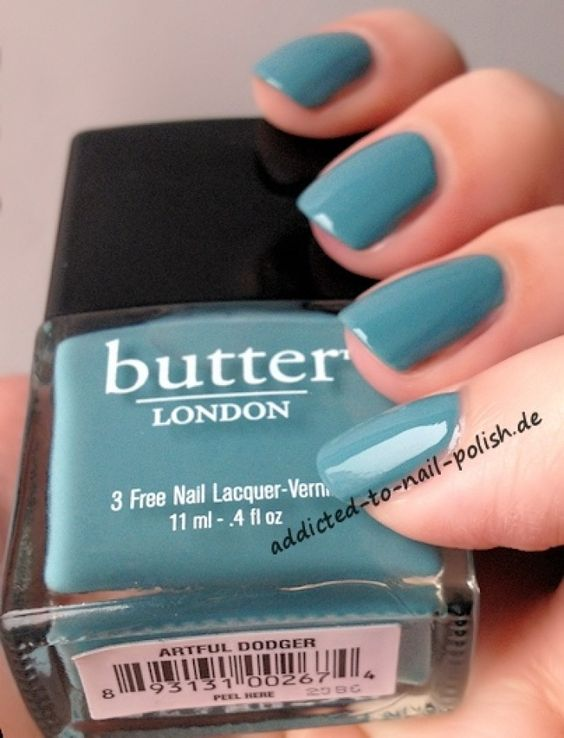Butter London – Artful Dodger.  Swatched on nail wheel.  SWAP with April from MUA