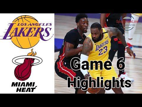 Max Sports Lakers Vs Heat Full Game Highlights Nba Final