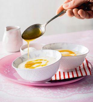 Zitronenpudding mit Karamell von Einfach Hausgemacht, Mein Magazin für Haus und Küche