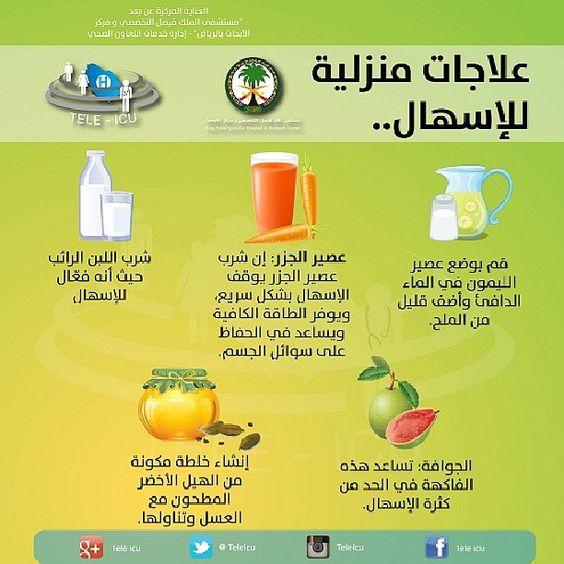 علاجات منزلية للإسهال
