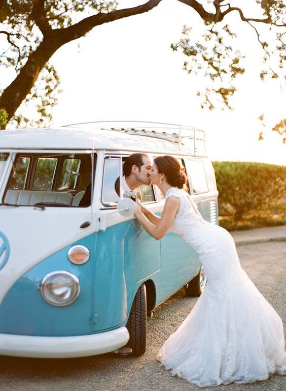 Es-tu une mariée princesse ou bohème ? La voiture ! 1