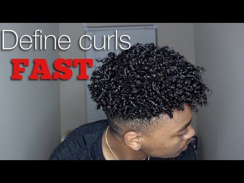 Quick Curls Defining Curls For Men Fast Ft Cantu For Men Youtube Afro Hair Twists Hair Twist Styles Natural Hair Men