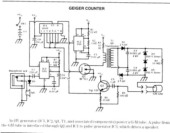 schematic for the wiring diagram schematic for geiger counter google search where a legend is schematic