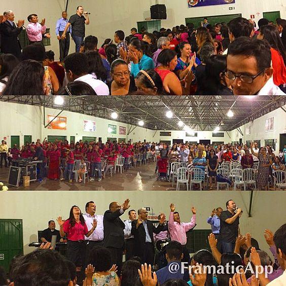 Tempo especial em Terra Boa Pr - Levantamos o nome do Senhor - e o nosso Deus foi Exaltado.