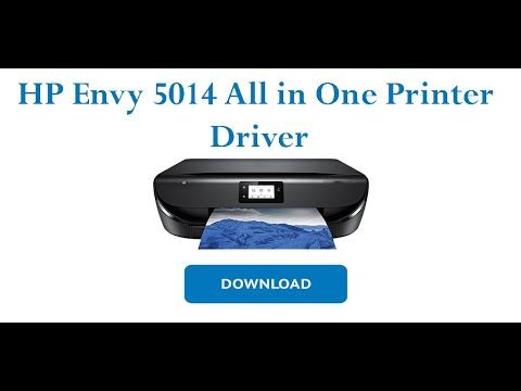 Hp Envy 5014 All In One Printer Driver Software Download Printer Driver Printer All In One