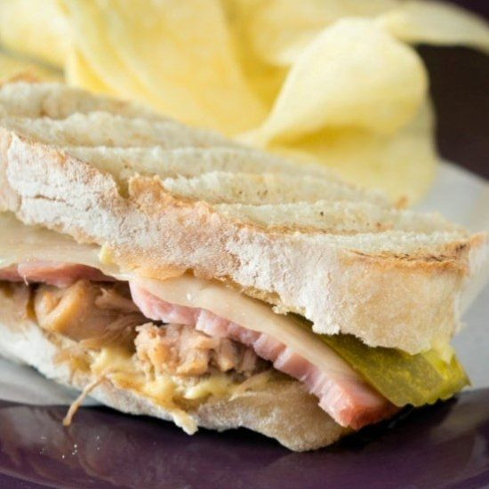 Full of flavor, this tasty Cuban sandwich is perfect for a summer lunch or easy dinner.