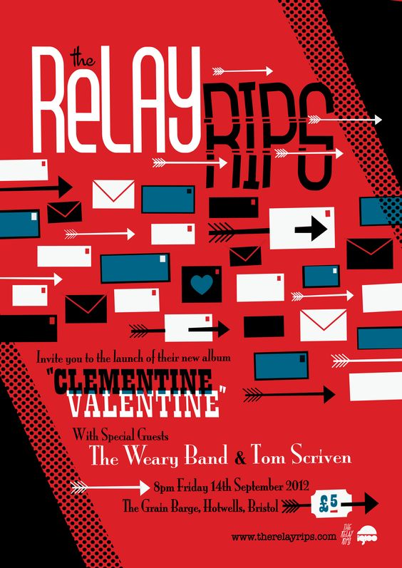 The Relay Rips! Poster design by Igloo (Peskimo) #poster