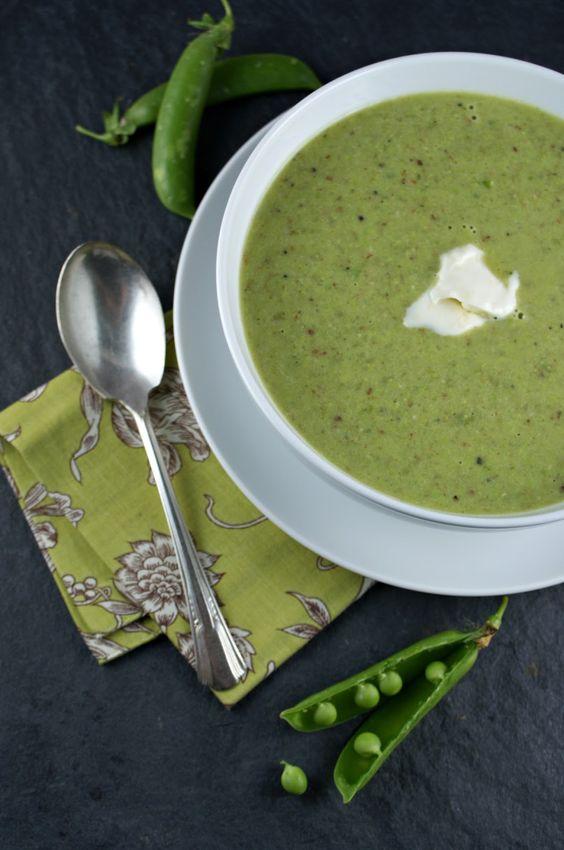 Spring Pea Soup with Lemon Crème Fraiche | Soups, Chowders & Stews ...