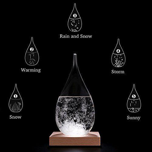 Amymami Storm Glass Weather Predictor Creative Stylish Weather
