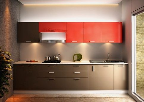 20 Fabulous Small Kitchen Designs In 2020 Straight Kitchen