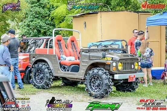 Vehiculos Todoterreno Por Alexander Castiblanco En Lj 80 Suzuki