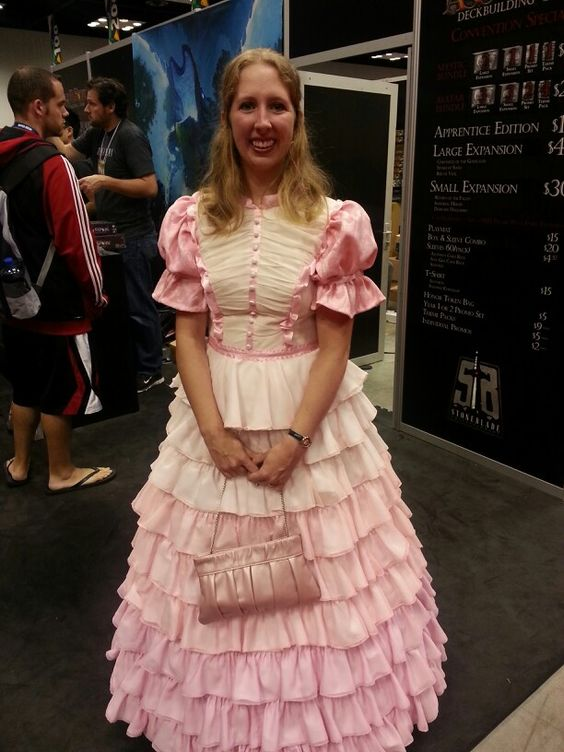 foto de Gorgeous Kaylee ball gown from Firefly at Gen Con 2013 #cosplay #gencon #firefly Cosplay ideas
