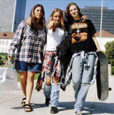 Brasil Usando, Moda Grunge, Looks Grunger, Gabriela Verrocchi, Usaban, Tempo Parte, Túnel, Ejemplo, 90 Moda