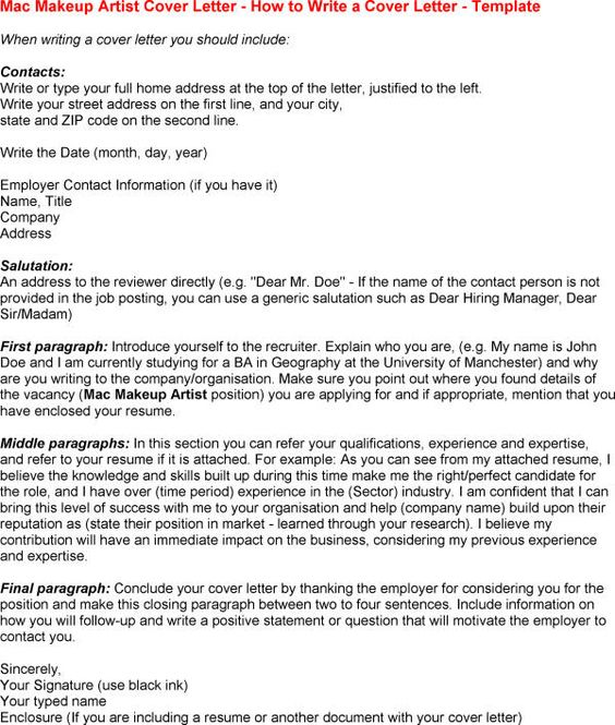 Cover Letter Template For Mac Microsoft -    wwwresumecareer - recruiter cover letter