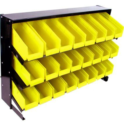 Stalwart 75-24BIN 24 Bin Parts Storage Rack Trays - Amazon.com
