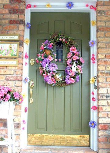 Pinterest - portas e janelas floridas - Pesquisa Google