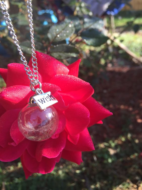 A personal favorite from my Etsy shop https://www.etsy.com/listing/476381040/dandelion-seed-wish-necklace *NEW ITEM*