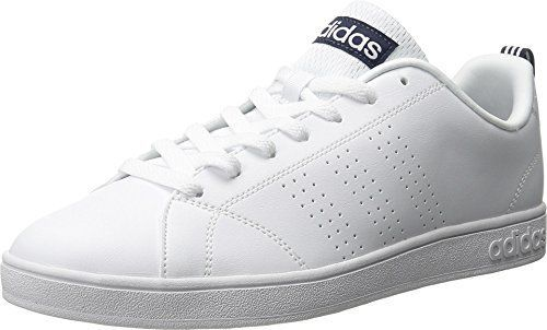 Adidas NEO Men's Advantage Clean VS Lifestyle Tennis Shoe,White ...