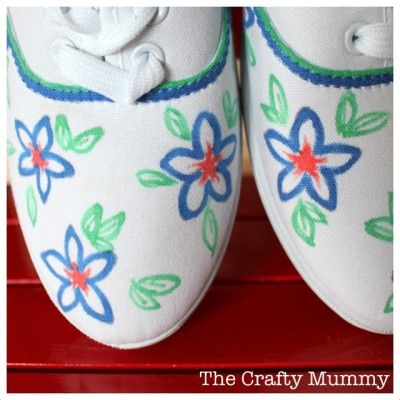 How to Draw on Shoes | Fun Family Crafts