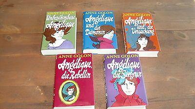 5 Bücher Angélique - Anne Golon - Romane