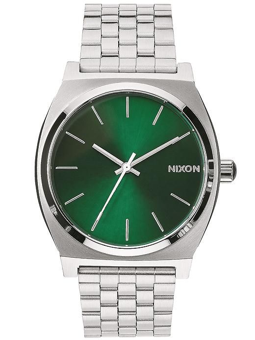 green and silver Nixon watch http://rstyle.me/~2jfSP