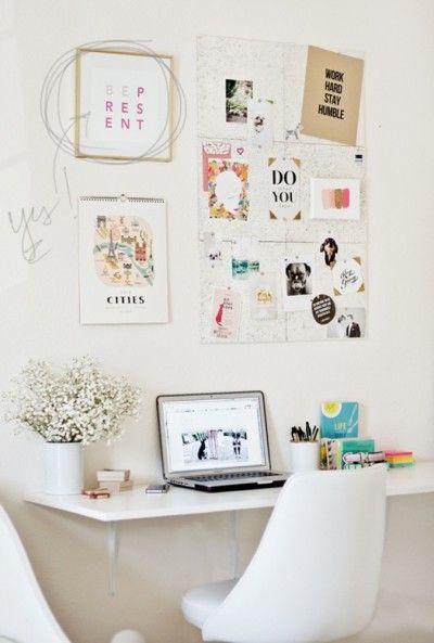Inspiração - Home Office - Primeira à Esquerda