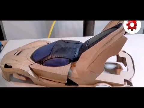 صناعة لمبرجيني من الورق المقوى Heels Peep Toe Shoes