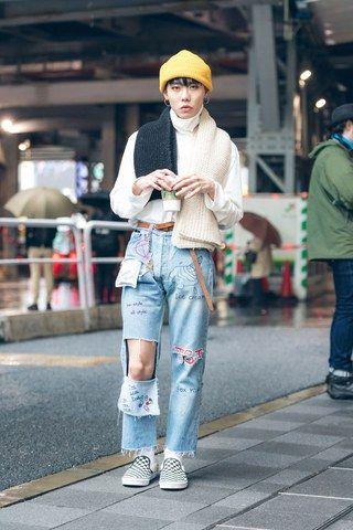 Tokyo Moda Haftası'ndan En İyi Sokak Stili Fotoğrafları Bahar '18 - Vogue
