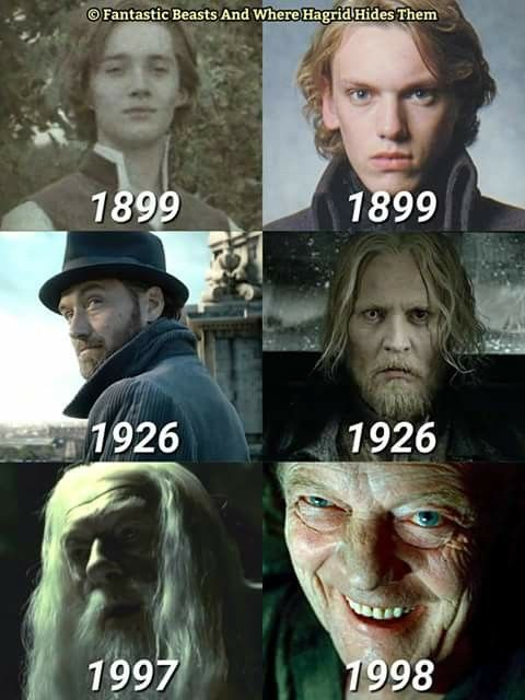 Albus Dumbledore And Gellert Grindelwald Over The Years Harry Potter Universal Harry Potter Fantastic Beasts Harry Potter Funny