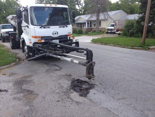 Extend The Life Of Asphalt Pavement Through Pothole Repair In 2020 Asphalt Pavement Repair