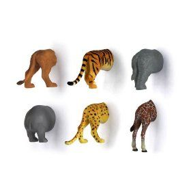 Animal bum magnets