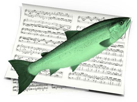 Fish partitura from troobaadoor.com