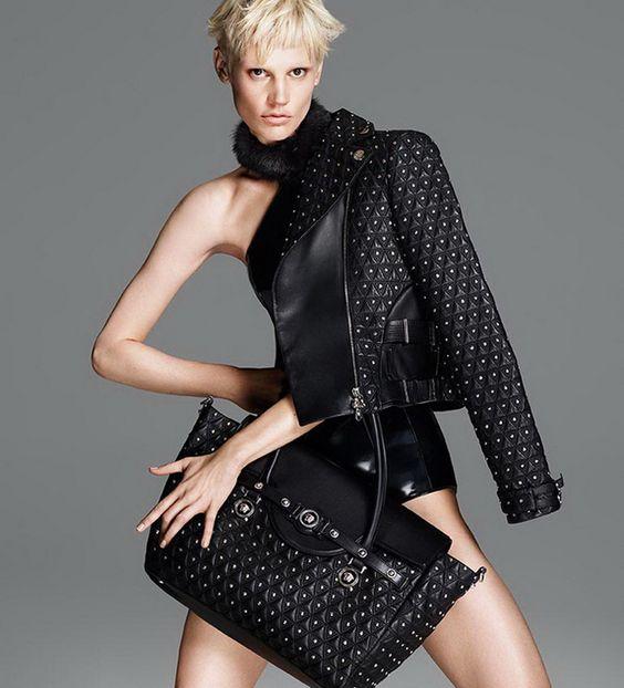 Кейт Мосс: новые снимки для Versace