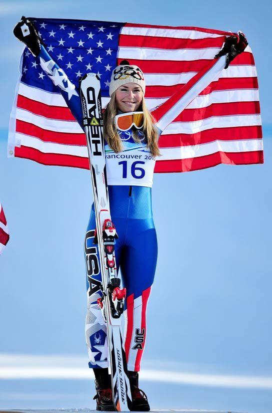 Lindsay Vonn  down hill skiing