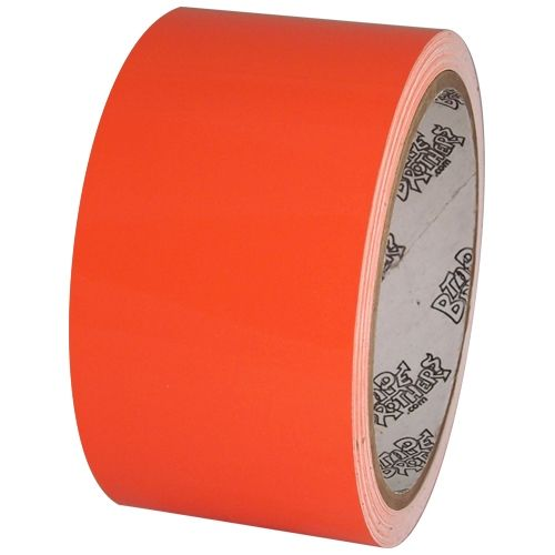 Tape Planet Fluorescent Orange 2 X 10 Yard Roll Premium Cast Vinyl Tape It Cast Adhesive Vinyl Cricut Vinyl