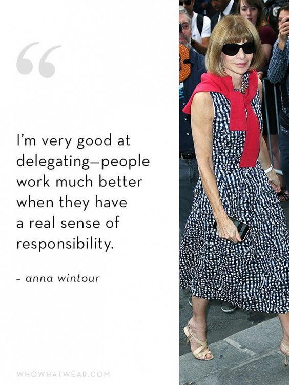 Anna Wintour's Ideal Employee Quality #6: Ambition: