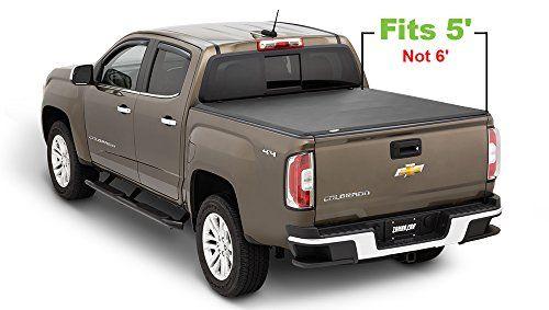 Tonno Pro Tonno Fold 42 114 Tri Fold Truck Bed Tonneau Cover 2015 2018 Chevrolet Colorado Gmc Canyon Fits Tonneau Cover Chevy Colorado Tri Fold Tonneau Cover