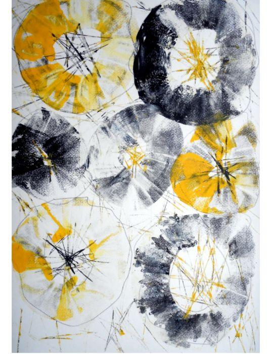 gelb1 34 x 48 cm