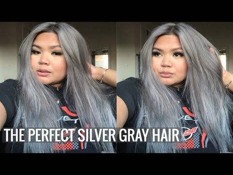 Pin By Anna Antonow On Hairstyles Chrome Hair Color Titanium Hair Color Hair Color Reviews