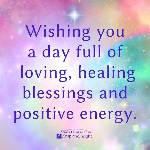 Sending you love and blessings today and always ✨:
