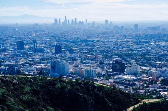 At the top of Runyon Canyon - #Hollywood #LA #Nikon #Prime