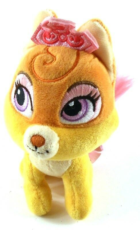 Disney Princess Palace Pets Plush Rapunzel S Fox Nuzzle 6 Tall Disney Cat Plush Disney Princess Palace Pets Princess Palace Pets