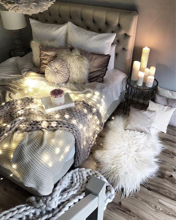 Gemutliche Schlafzimmerideen Schlafzimmerdekor Ideen Fur Jugendliche Kleines Bohemianhomebedroomboh Comfy Bedroom Small Room Bedroom Bedroom Decor Cozy